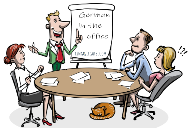 German in the office