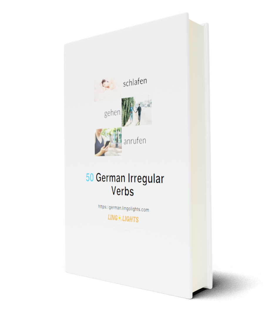 50 German Irregular Verbs